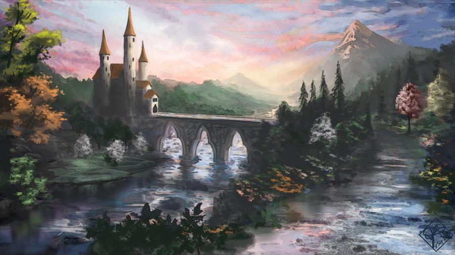 Fairytale Castle by jjpeabody