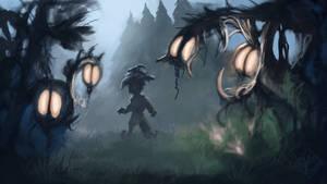 Fantasy Forest by jjpeabody