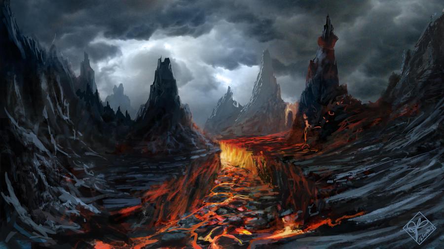 evil landscape background - photo #1
