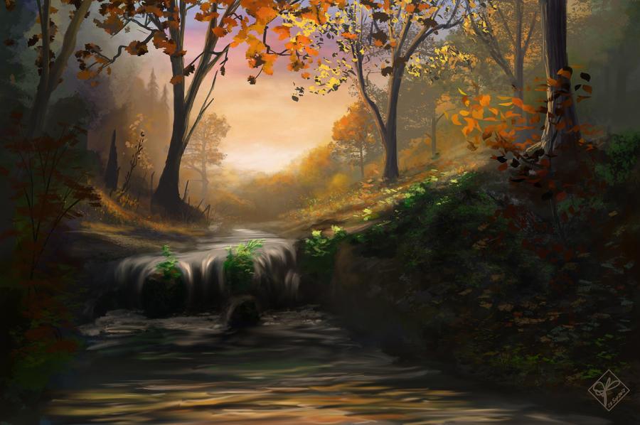 Autumn Begins by jjpeabody