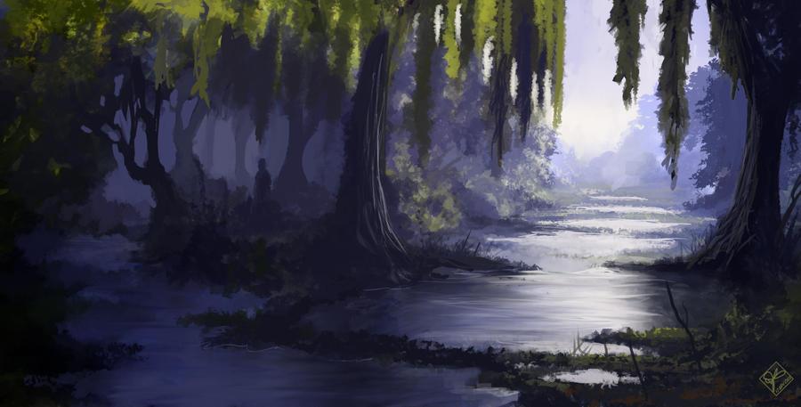 Fairytale Swamp by jjpeabody