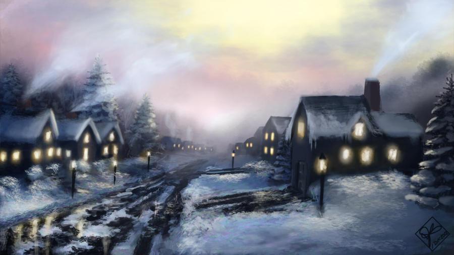 Winter on Springwood by jjpeabody