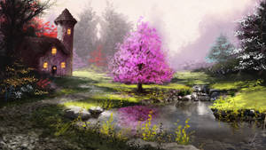 Sunlit Pond