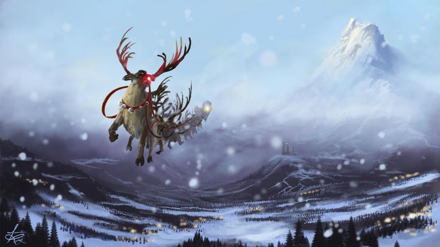 Santa's Coming by jjpeabody