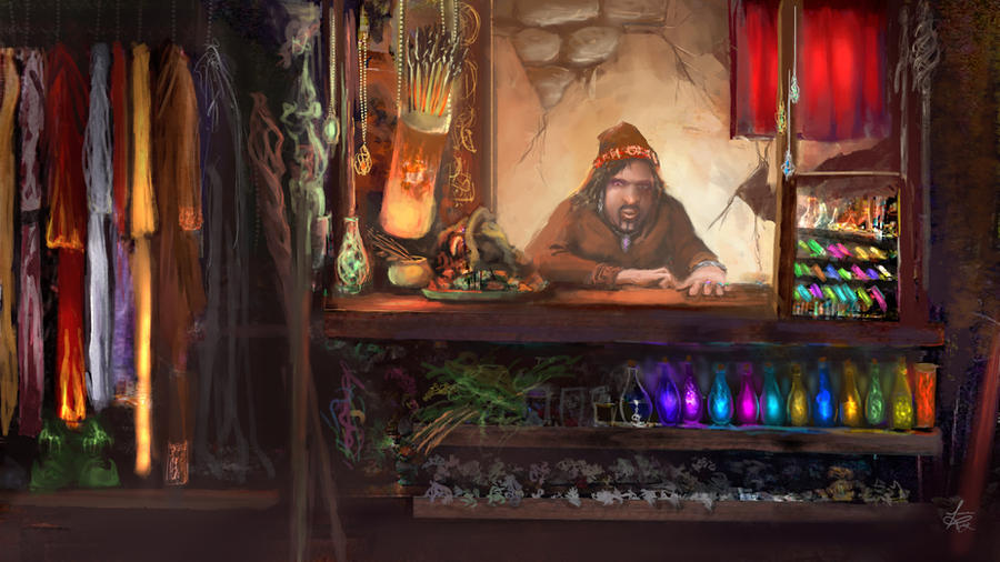 Ye Ol Magic Shop by jjpeabody