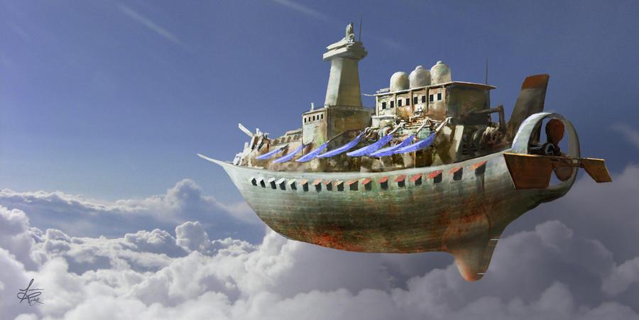 Airship by jjpeabody