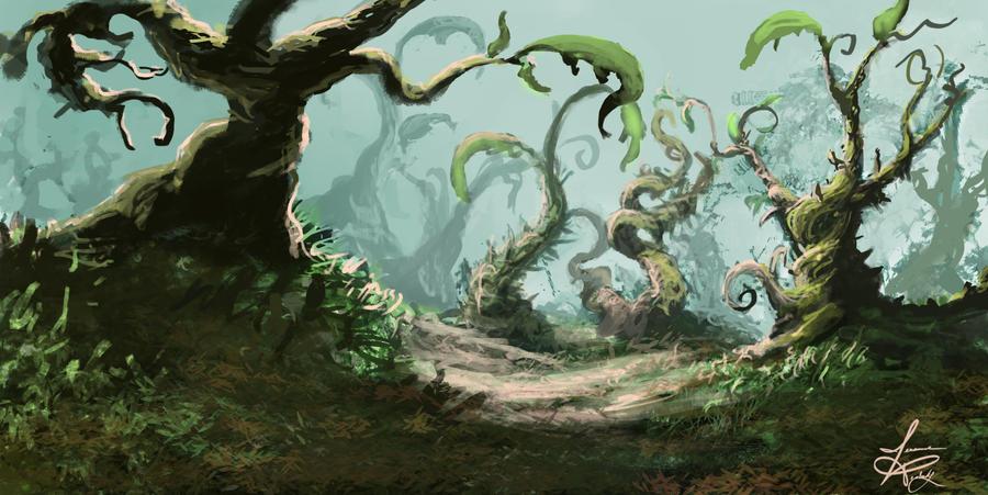 Alien Zen Garden by jjpeabody