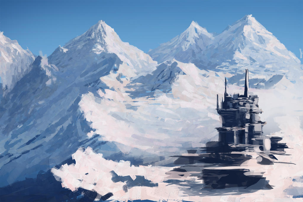 Mountain Base by jjpeabody