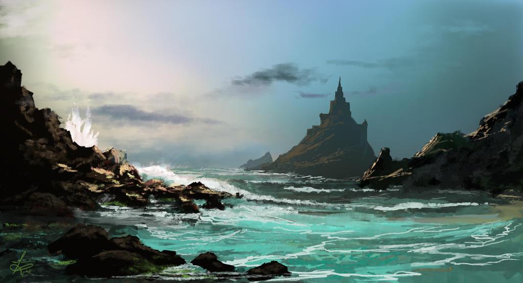 Seaside Fantasy by jjpeabody