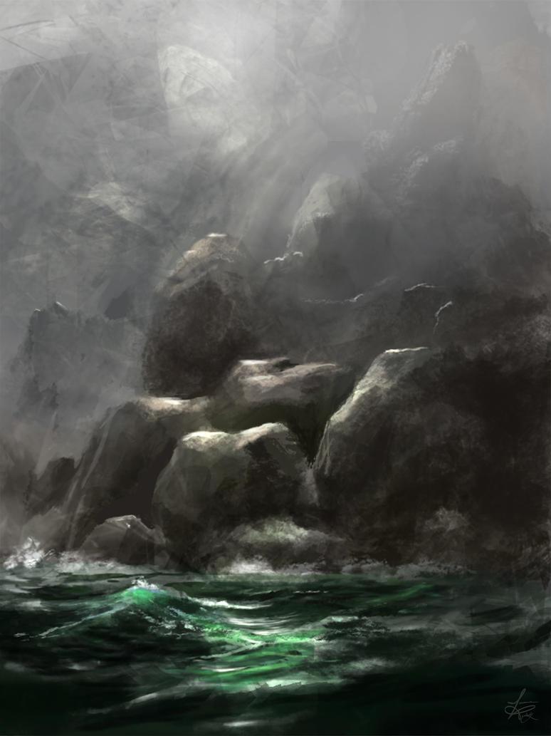 Ocean Fog by jjpeabody