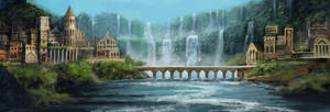 Elvish City (Commission)