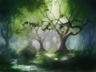 Legendary Forest by jjpeabody