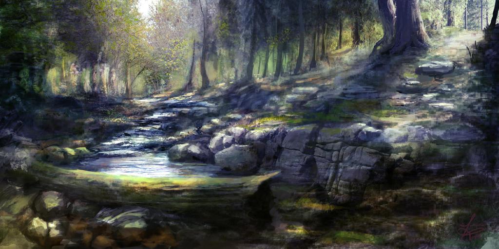 Legendary River by jjpeabody
