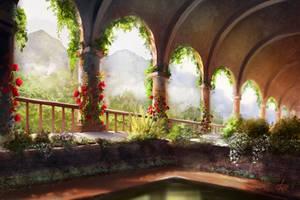 Castle Garden by jjpeabody
