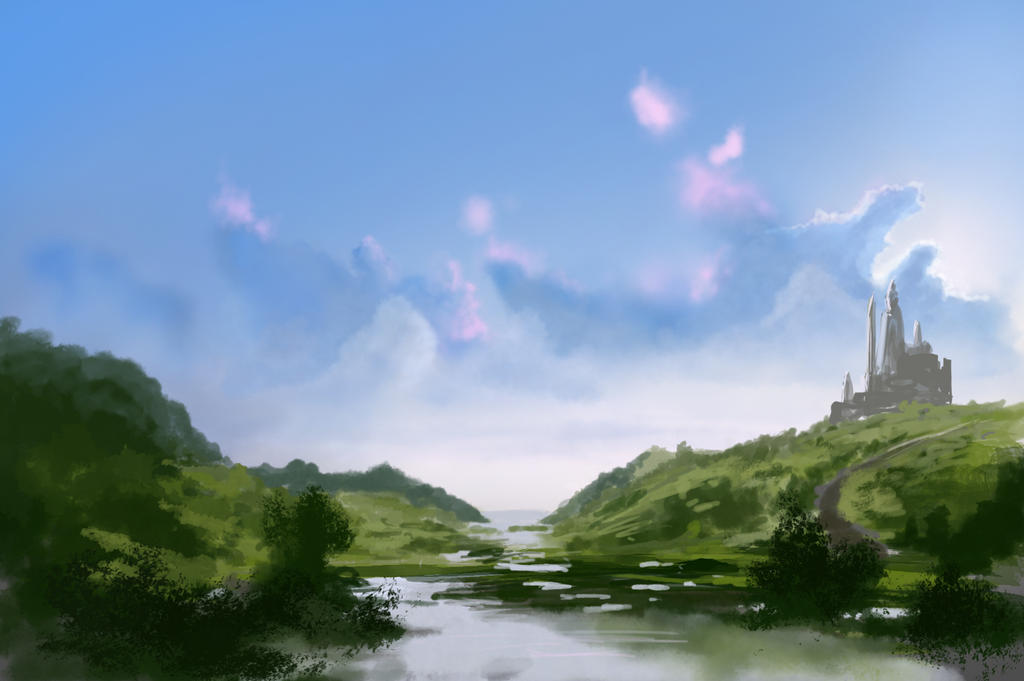 Fantasy Marsh by jjpeabody