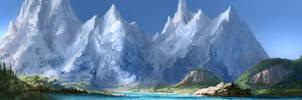 Glacier Lake by jjpeabody