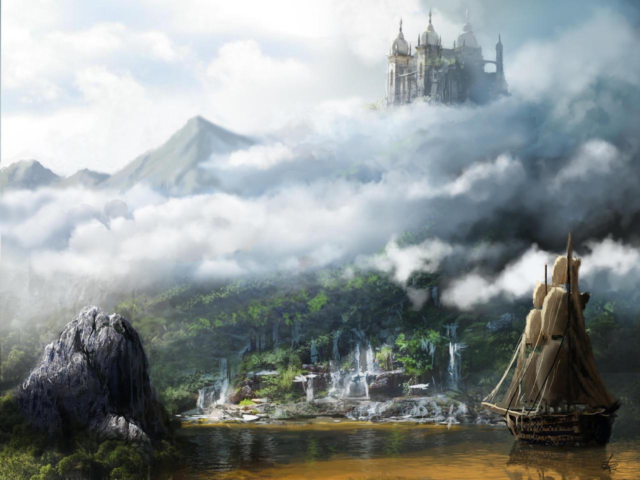 Casterly Rock by jjpeabody