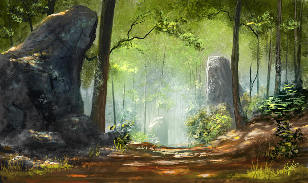 Magestic Woods by jjpeabody