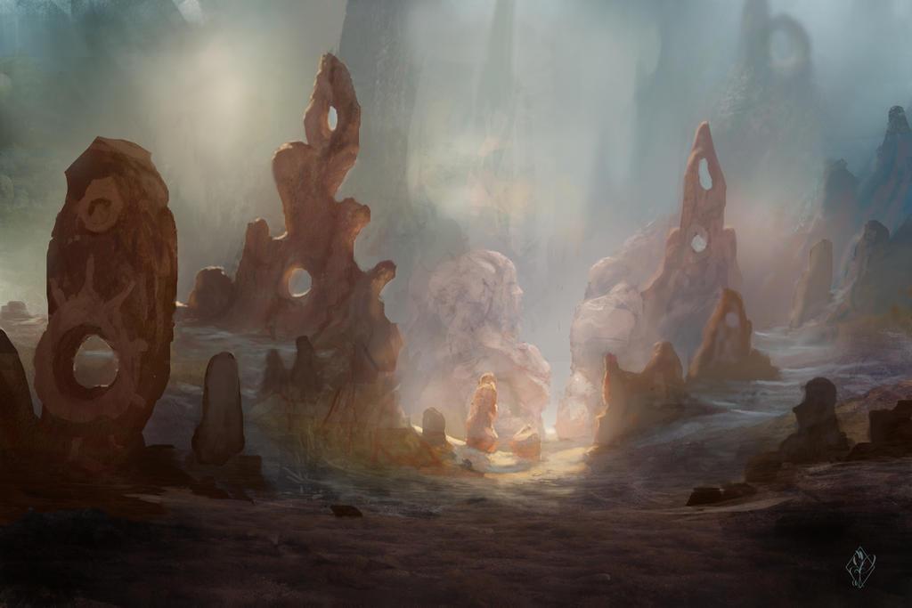 Mysterious Desert by jjpeabody