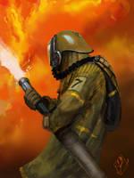 Fireman Concept by jjpeabody