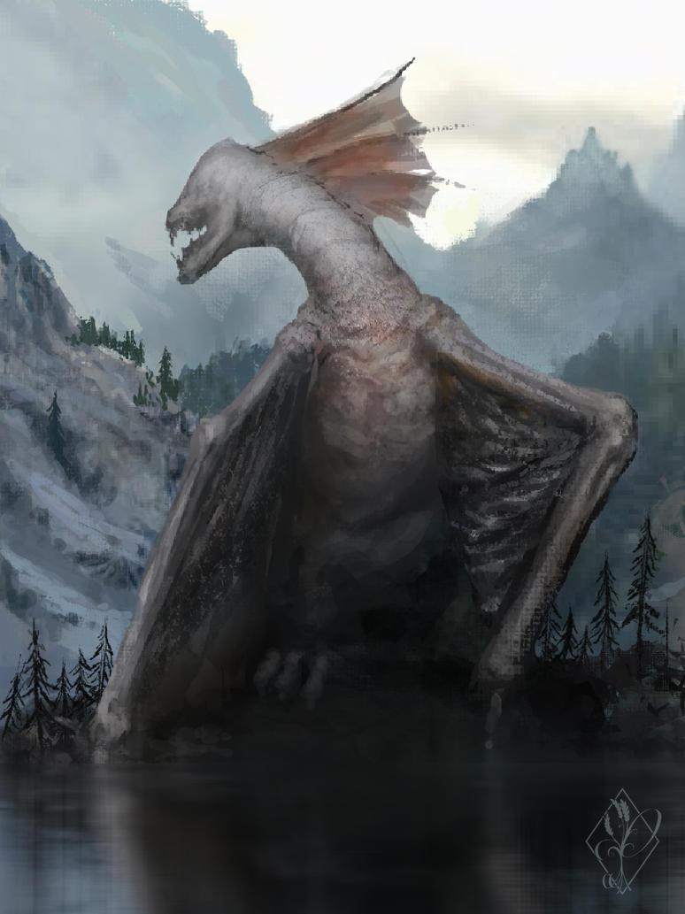 Lake Dragon by jjpeabody