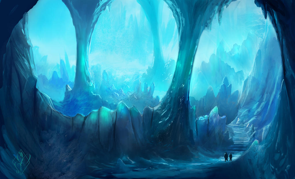 Ice Caverns by jjpeabody