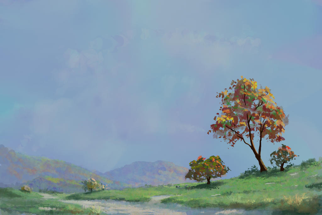 How to paint an Impressionistic Landscape by jjpeabody