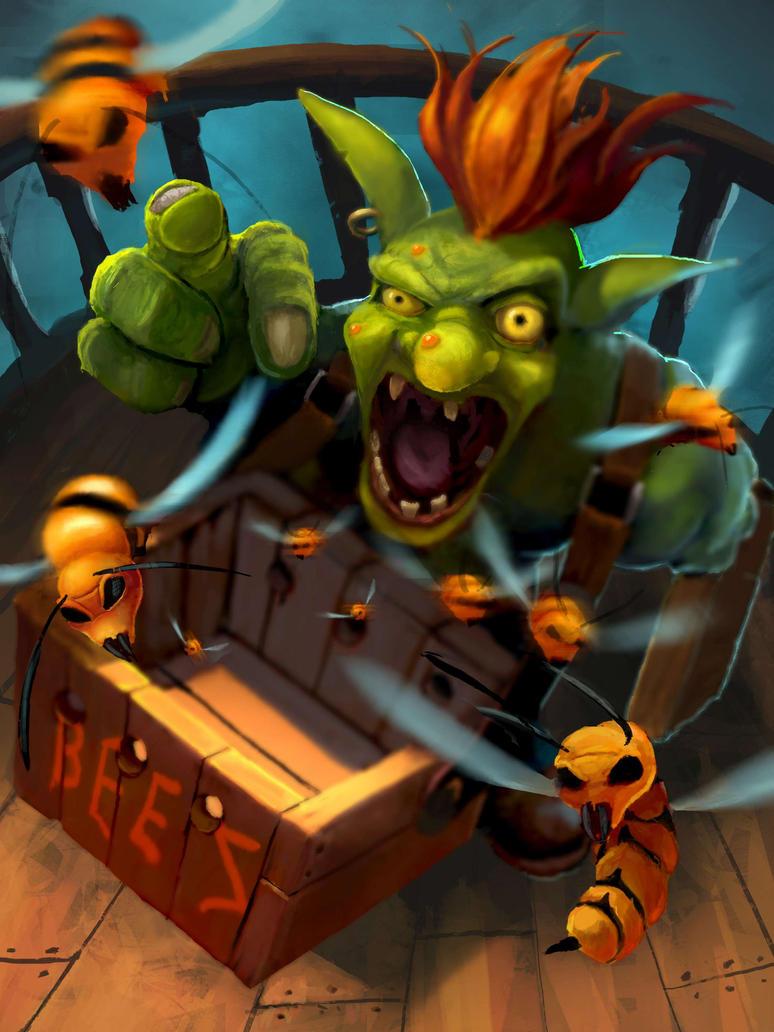 Goblin Swarm Master by jjpeabody