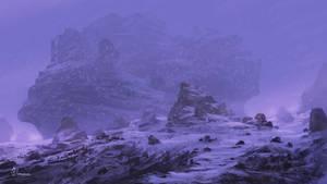 Snow Fantasy Landscape