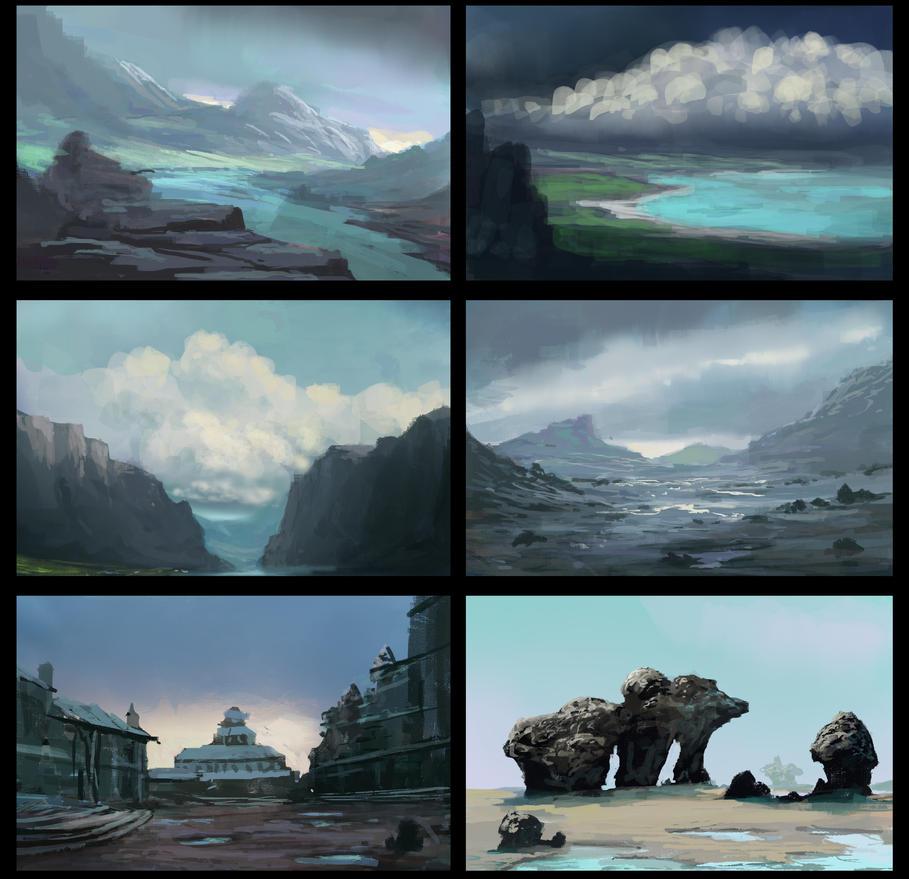 Landscape Thumbnails 20150502-2 by jjpeabody