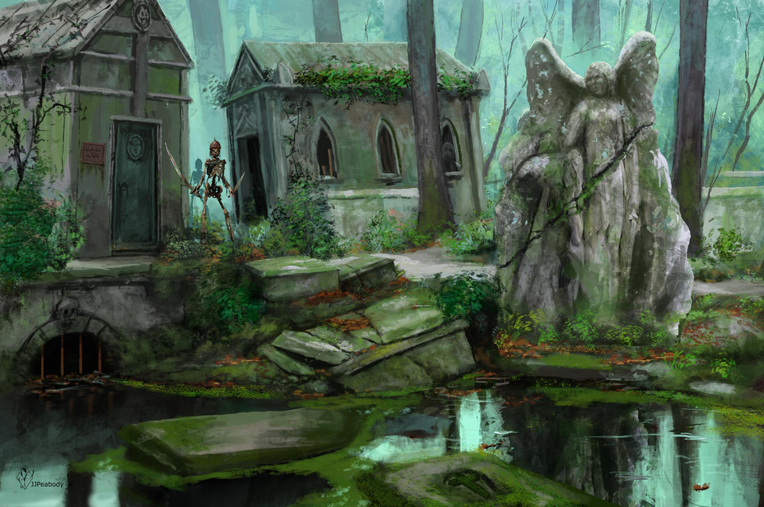 Flooded Graveyard by jjpeabody