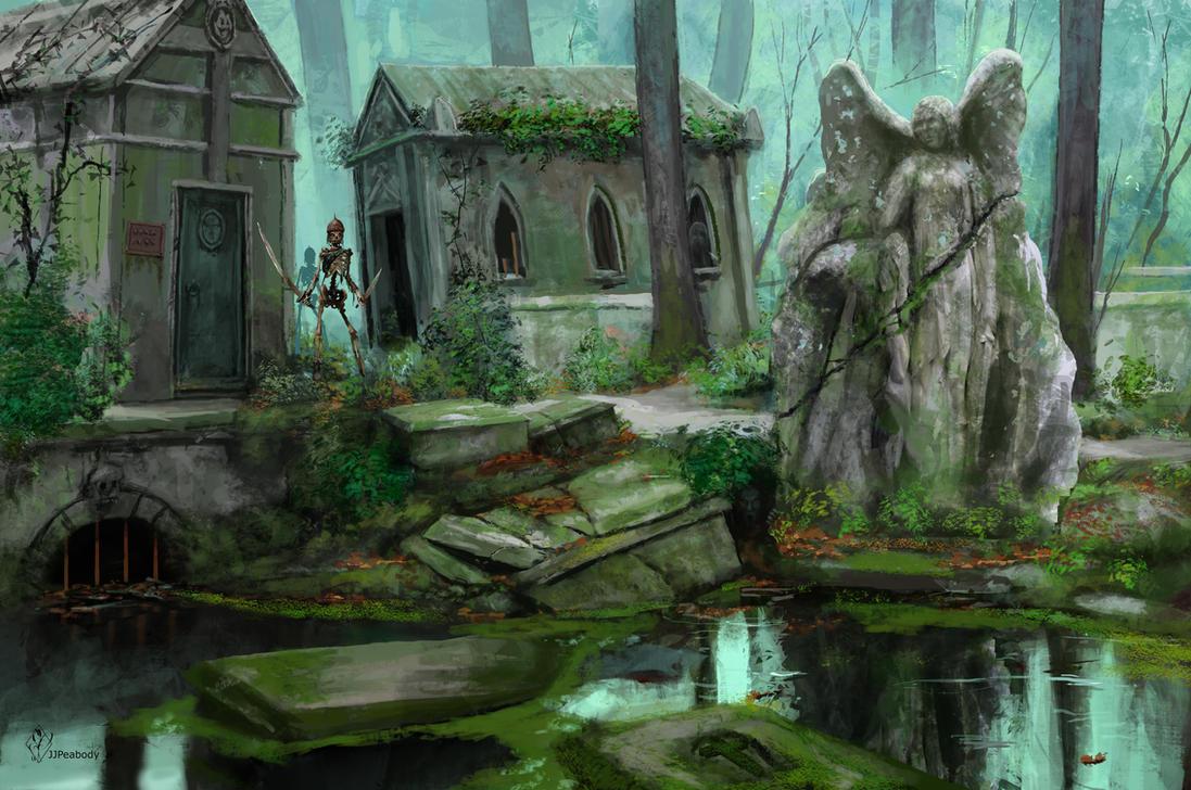 Flooded Graveyard by jjpeabody
