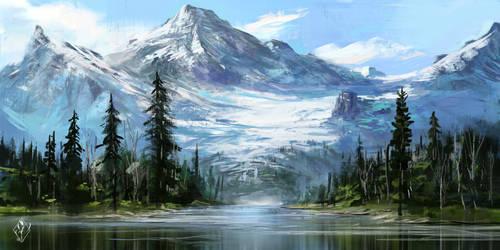 Glacier by jjpeabody