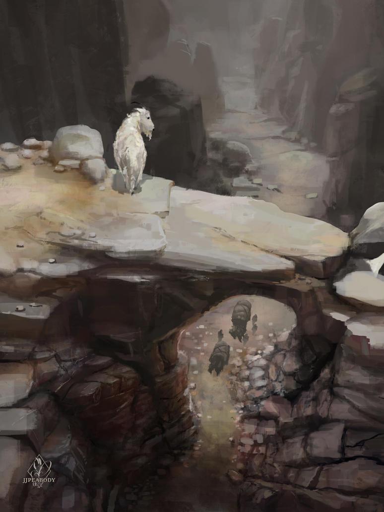 Canyon Trek by jjpeabody