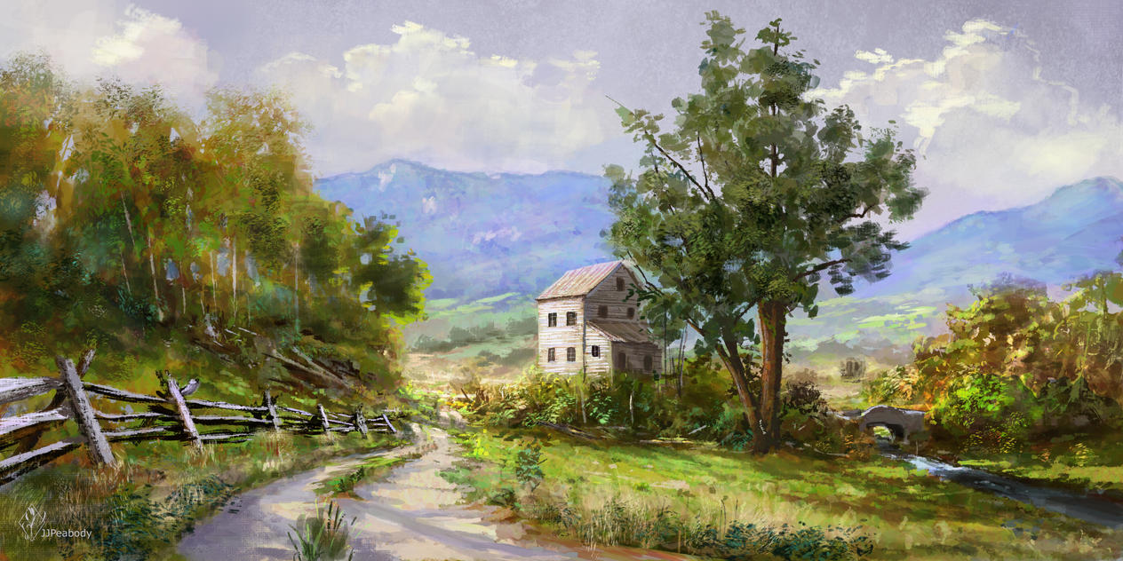 Virginia Farm by jjpeabody