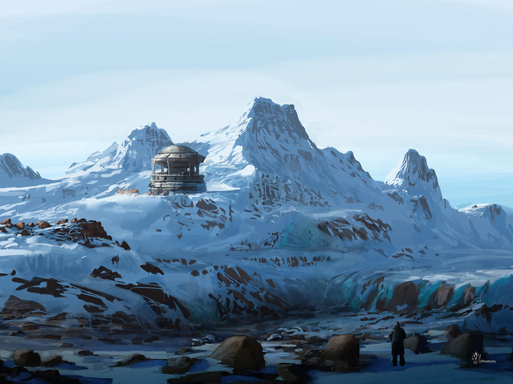 Antarctic base by jjpeabody