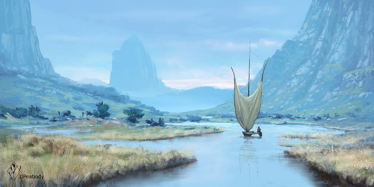 Waterway by jjpeabody