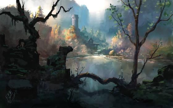 Ancient Mountain Lake