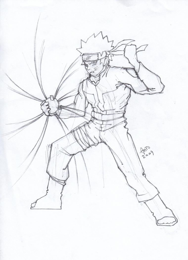 Naruto 39 s Rasengan by Anto2009 on