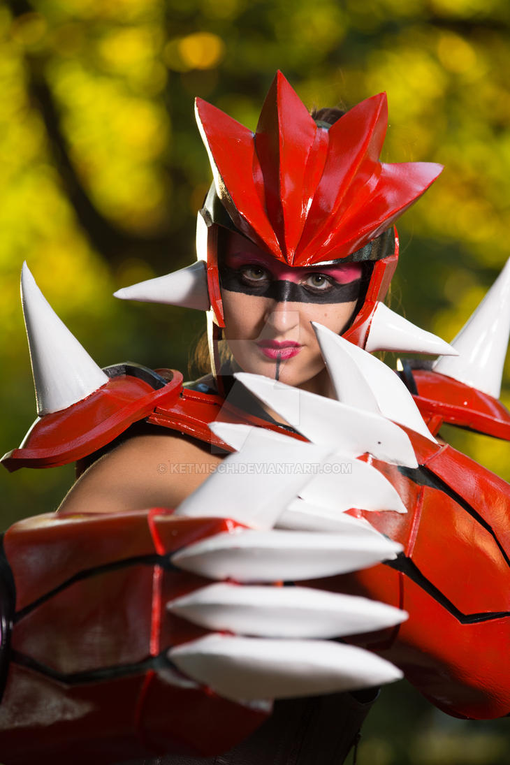 Groudon Cosplay by ketmisch