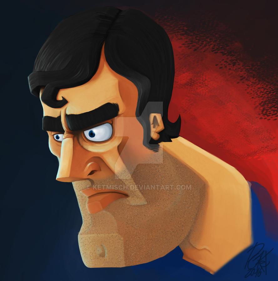 Superman FanArt by ketmisch