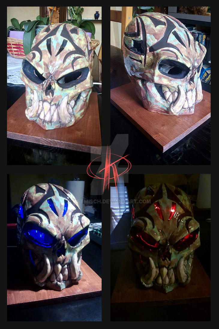 Skull Sculpture by ketmisch