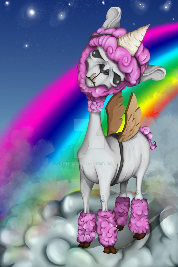 Magic Lama by ketmisch