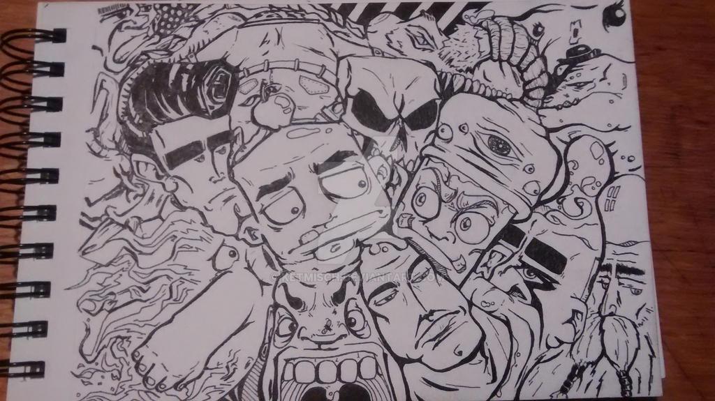 ink-sketch 01 by ketmisch