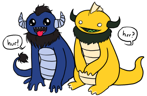 Monsters by Teh-Lady-Randomness
