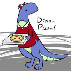 Dino-Pizza by Teh-Lady-Randomness
