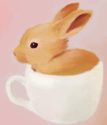 Teacup Bunny by Teh-Lady-Randomness