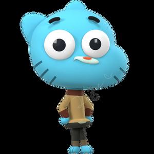Gumball Watterson (3D Model)
