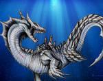 Lagiacrus from Monster Hunter3