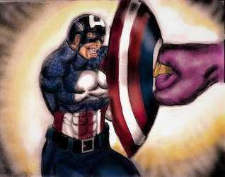 Captain America by wascl